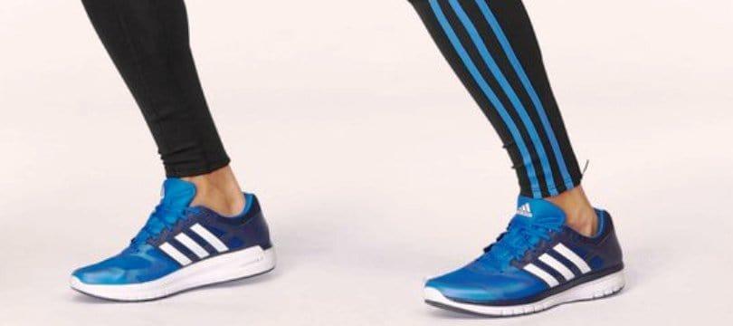 zapatillas running hombre adidas rojas