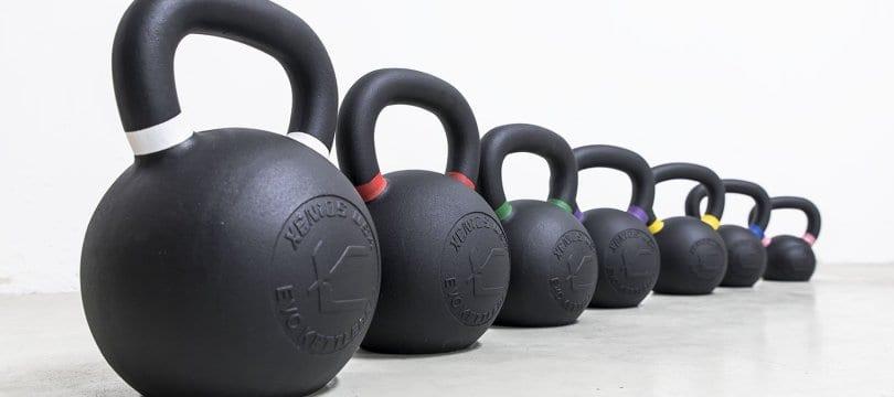 4 kg, con asa, ejercicio Bodymax Cast Pesa rusas